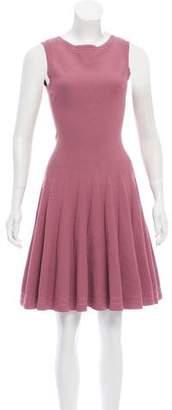 Alaia Sleeveless Mini Dress
