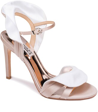 Badgley Mischka Collection Ella Two-Tone Satin Sandal
