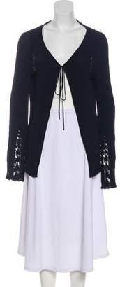 Fendi Long Sleeve Knit Cardigan