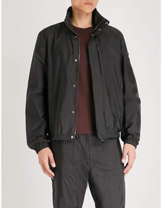 Prada Elasticated-trims nylon jacket