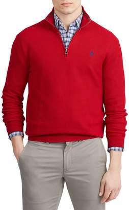 Polo Ralph Lauren Half-Zip Cotton Sweater