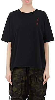 """Taverniti So Ben Unravel Project Women's """"To Create Something New"""" Cotton T-Shirt"""