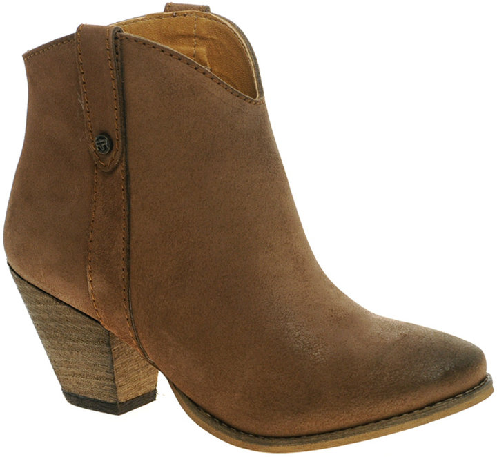 River Island Safina Ankle Western Boots