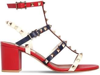 Valentino 60mm Rockstud Leather Sandals