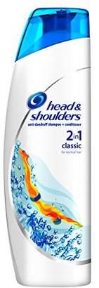 Head & Shoulders Classic Clean Anti-Dandruff 2-in-1 Shampoo, 225 ml, Pack of 6