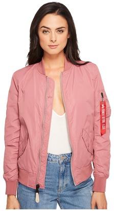 Alpha Industries - L-2B Scout Jacket Women's Coat $135 thestylecure.com