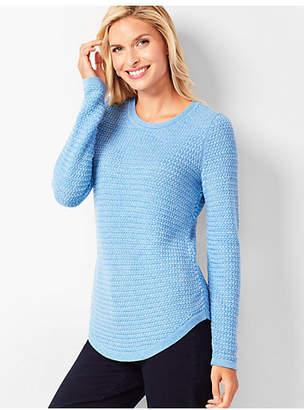 Talbots Basketweave Sweater