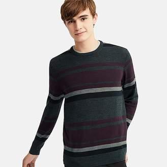 Uniqlo Men's Extra Fine Merino Crew Neck Long-sleeve Sweater