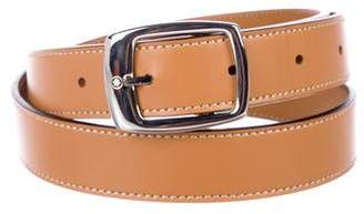 Montblanc Leather Buckle Belt