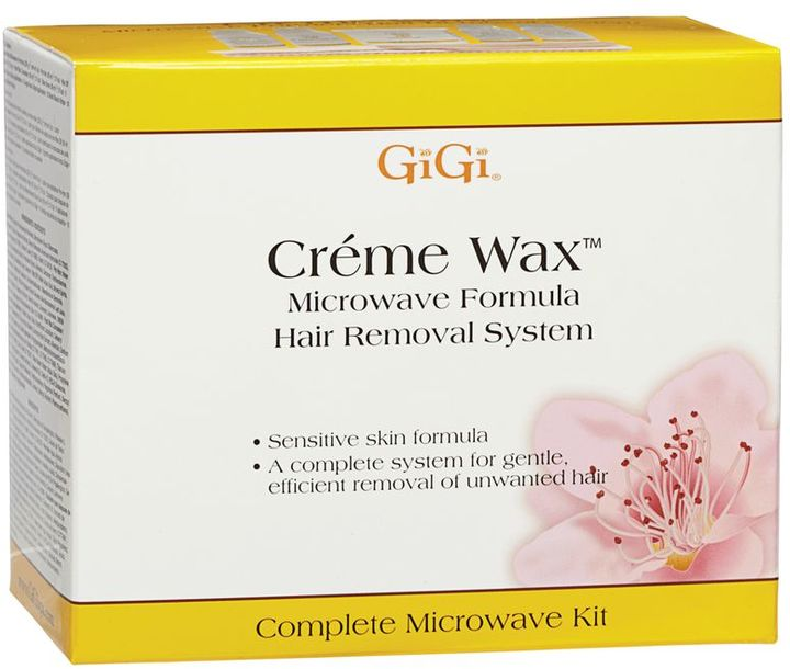 GiGi Microwave Creme Wax Hair Removal System