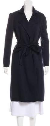 Donna Karan Quilted Long Coat w/ Tags