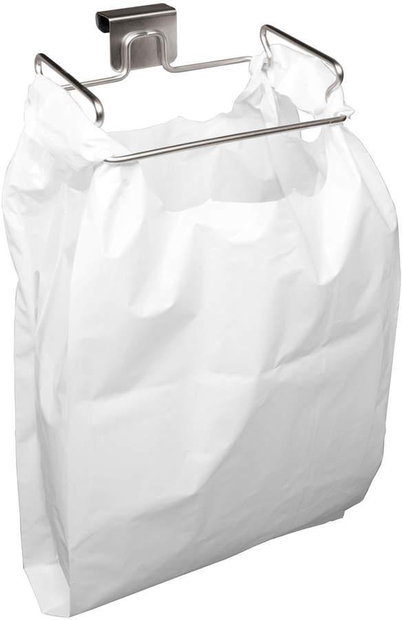 Over-the-Door Plastic Bag Trash Bin