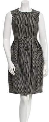 Martin Grant Wool Checkered Dress w/ Tags