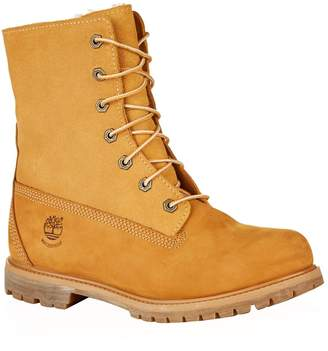 Timberland Teddy Fleece Waterproof Fold-Down Boots