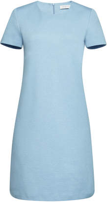 Harris Wharf London Canvas Short Sleeved Shift Dress