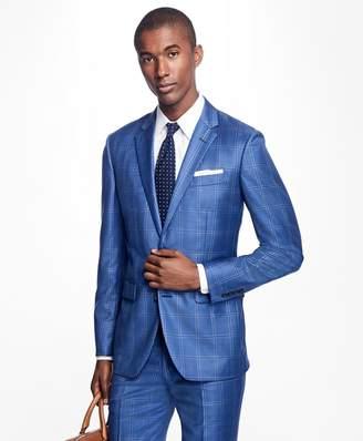 Brooks Brothers Milano Fit Windowpane 1818 Suit