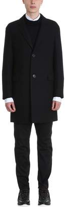 Lanvin Black Wool Coat