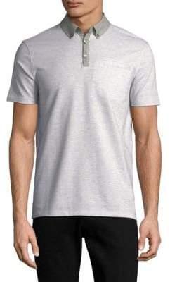 Calvin Klein Jeans Short-Sleeve Cotton Polo