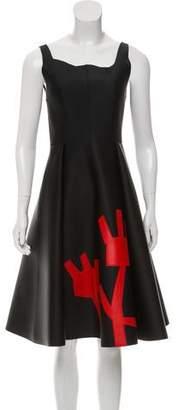 Acne Studios Flared Scuba Dress