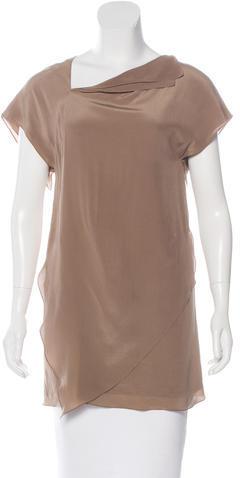 3.1 Phillip Lim3.1 Phillip Lim Silk Asymmetrical Tunic