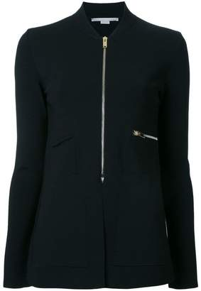 Stella McCartney zip detail shirt jacket