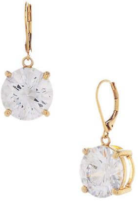 Betsey Johnson Large Crystal Drop Earring