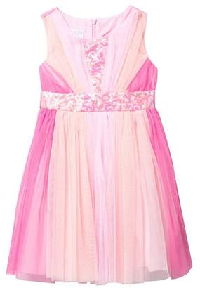 ad6b26316b42 Iris   Ivy Multi Pink Mesh Ballerina Dress (Little Girls)