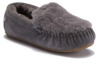 Emu Cairns Reverse Fur Moccasin