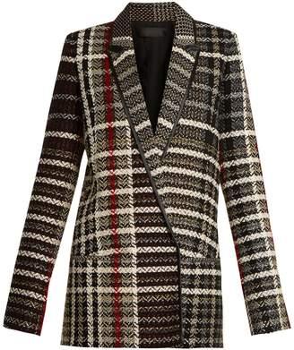 HAIDER ACKERMANN Renior peak-lapel tweed blazer $1,815 thestylecure.com