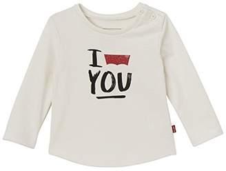 Levi's Kids Baby Girls' LS Tee Batlove Longsleeve T-Shirt