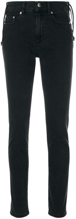 Lace-Up Harvey jeans