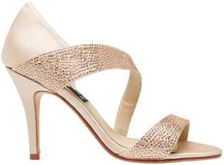 Lotus Pink Silk Sandal