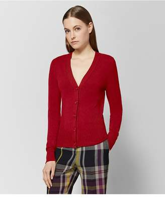 Bottega Veneta Red Cashmere Sweater