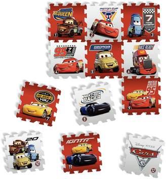 Tatamiz tatamiz ttmz211Disney Cars-Set of 12Foam Puzzle Mat