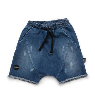 Nununu Denim Rounded Shorts