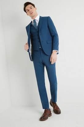 Next Mens DKNY Slim Fit Teal Jaspe Jacket