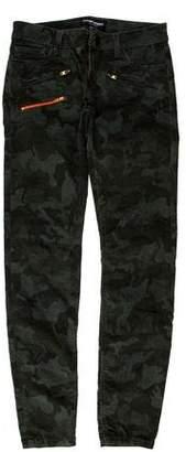 Etienne Marcel Low-Rise Skinny Pants