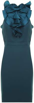 DSQUARED2 Ashley Ruched Stretch-crepe Dress