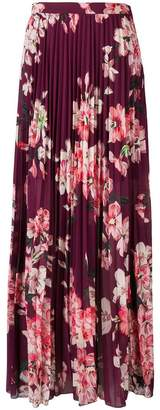 Liu Jo floral pleated maxi skirt