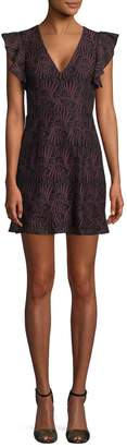BCBGeneration Women's Cut-Out Mini Dress