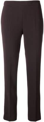 Alberto Biani slim-fit crepe trousers