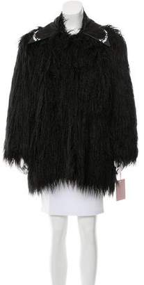 Giamba Faux Fur Jacket w/ Tags