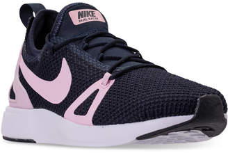 Nike Girls' Duel Racer Running Sneakers from Finish Line $99.99 thestylecure.com