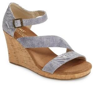 Women's Toms Clarissa Wedge Sandal