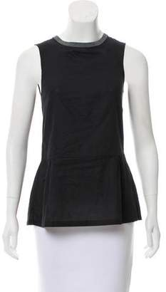 Marni Sleeveless Woven Top