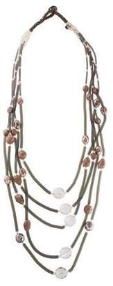 Giorgio Armani Beaded Multistrand Necklace