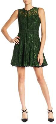 Adelyn Rae Delilah Fit & Flair Lace Dress