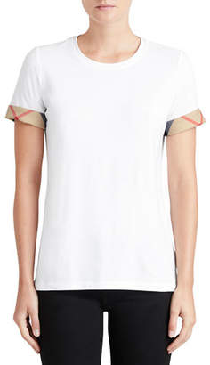 Burberry Short-Sleeve Long Tee