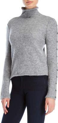 Shae Turtleneck Reverse Seam Sweater