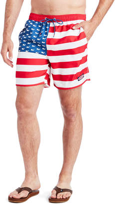 Vineyard Vines USA Flag Chappy Trunks